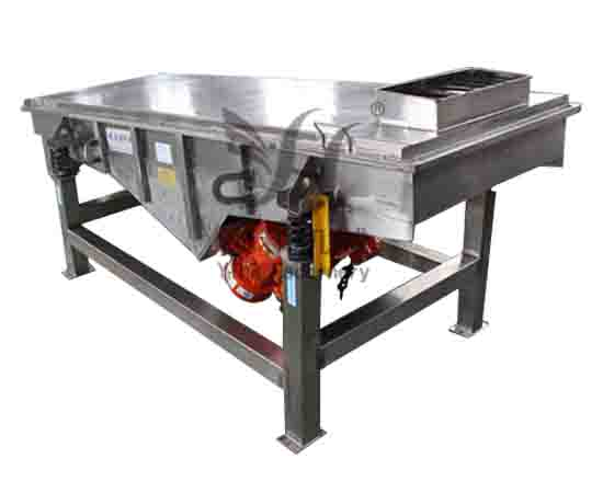 Stainless steel straight line Vibrating scree