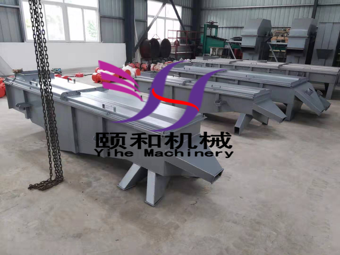 Model Introduction of Linear Vibrating Screen
